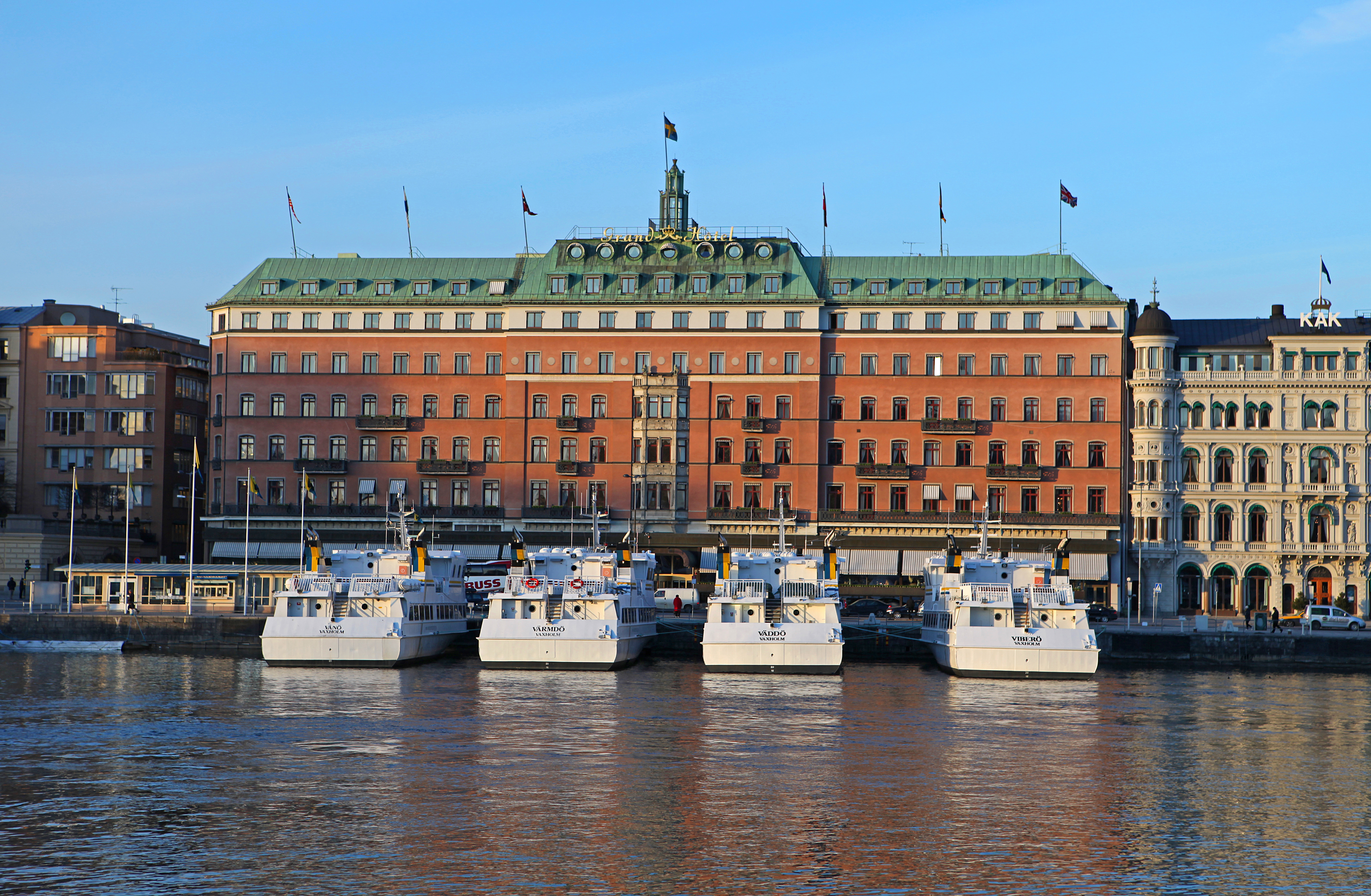 Grand Hotel Stockholm Rooms