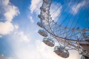 Unique venues of London - the London Eye