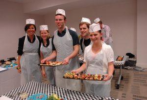 Corporate Team Building Ideas - cooking