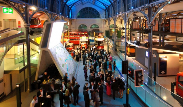 Transport Museum - a unique venue for your next event