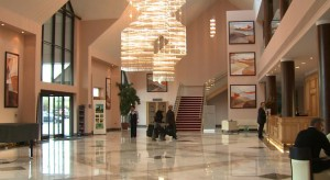 Lobby Area of the East Sussex National Hotel