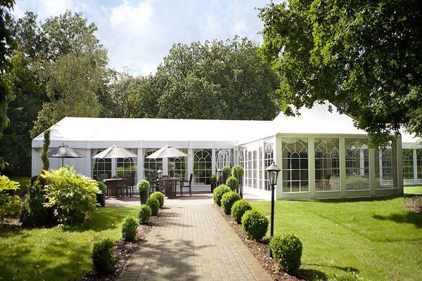 Pavilion Suite at Audleys Wood Hotel