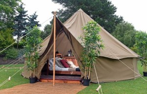 Why not 'glamp' for your next event
