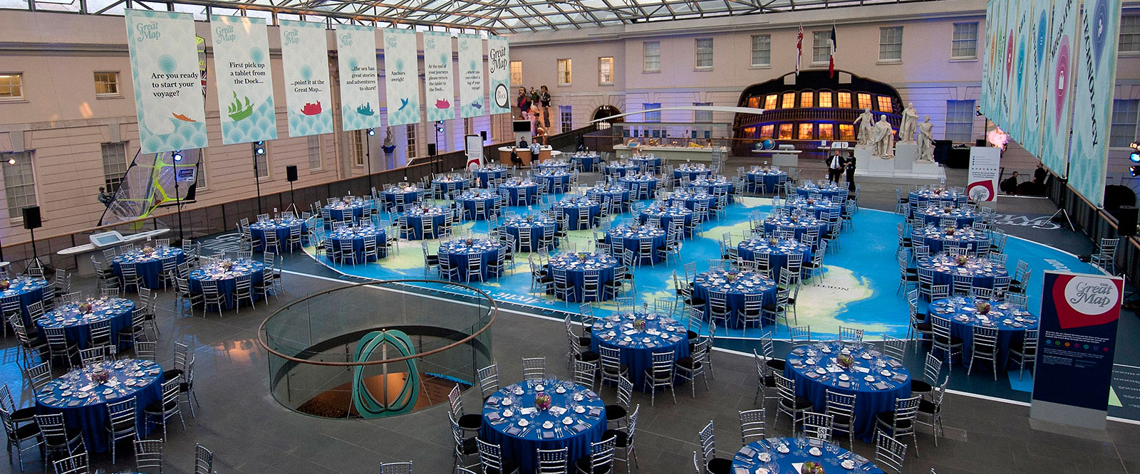 Royal Naval Museum - a unique venue to hold your next dinner