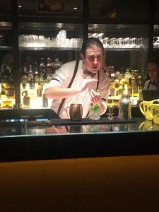 Cocktail making in Paris