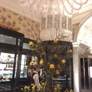 Easter decoration at the Savoy Hotel