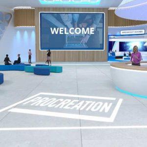 3d platform for virtual conferences