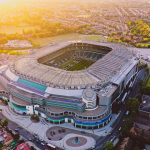 aerial view of Twickenham stadium