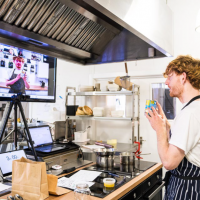Virtual cookery class