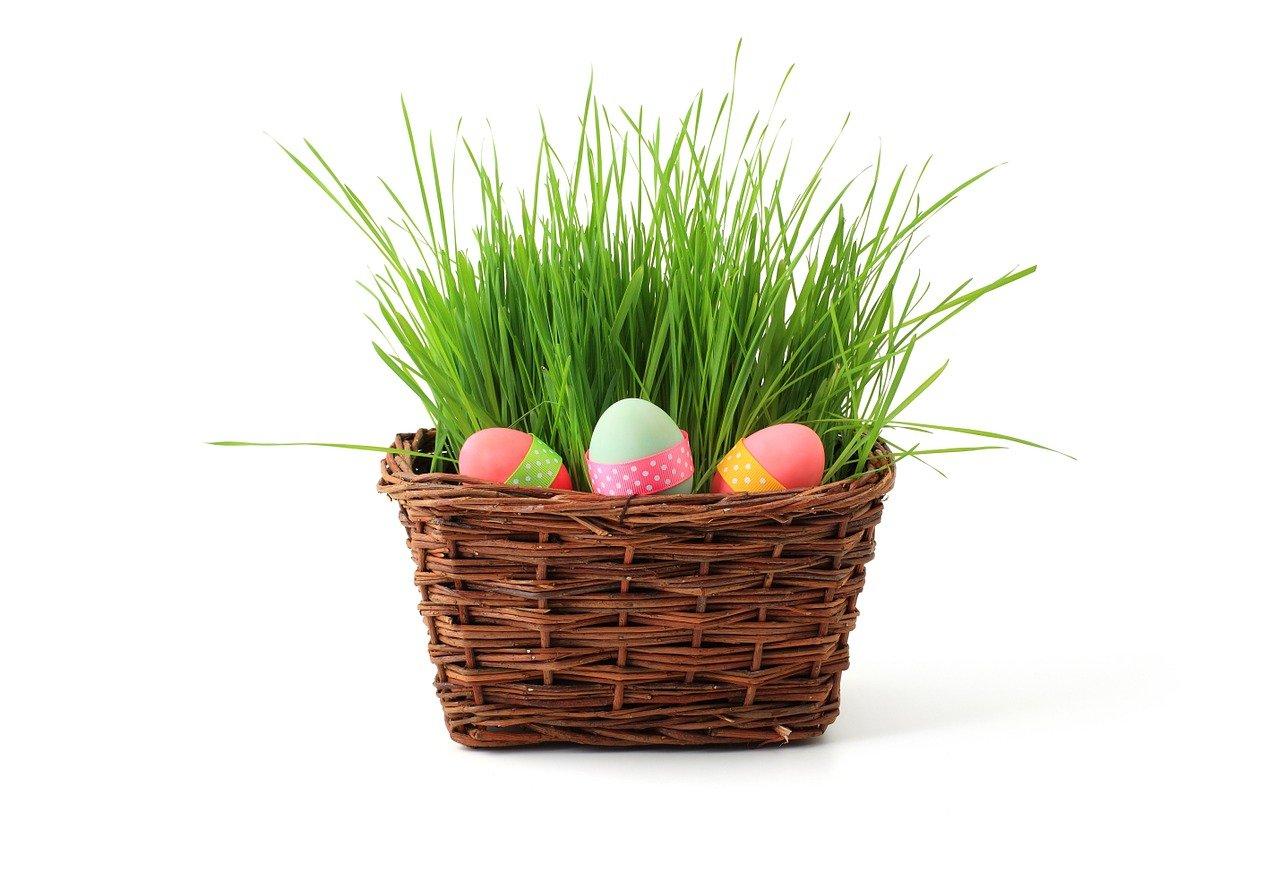 Easter basket - easter teambuilding ideas