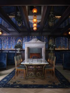 NoMad Fireplace room